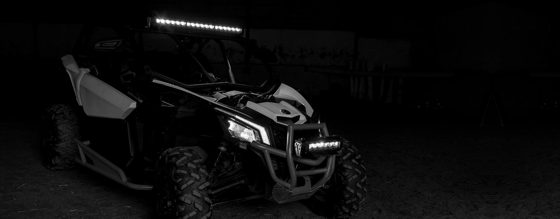 VTT led light bar ATV best lighting offroad side by side