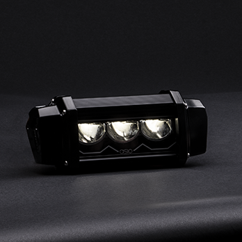Led light bar 10 inches adaptative lighting
