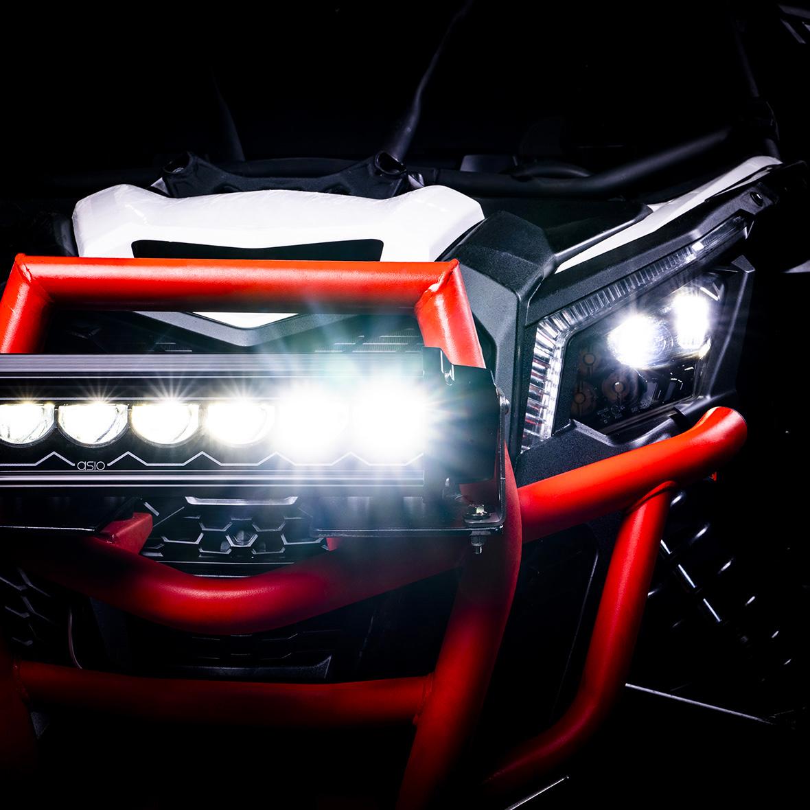 led light bar ATV