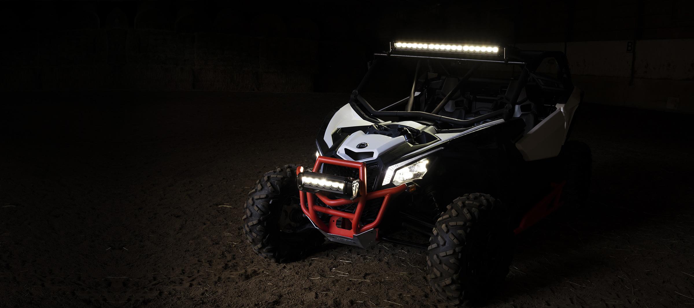 led light bar ATV side by side offroad best lighting