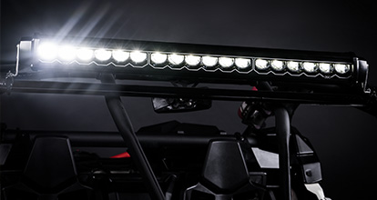 powerful led light bar for racing Asio