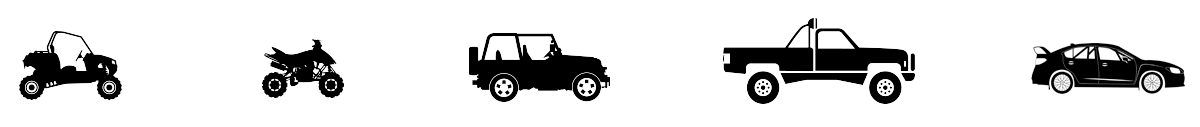 SIDE-BY-SIDE - VTT - JEEP - PICK-UP - SNOW MOBILE